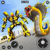 Snake Transform Robot Games icon