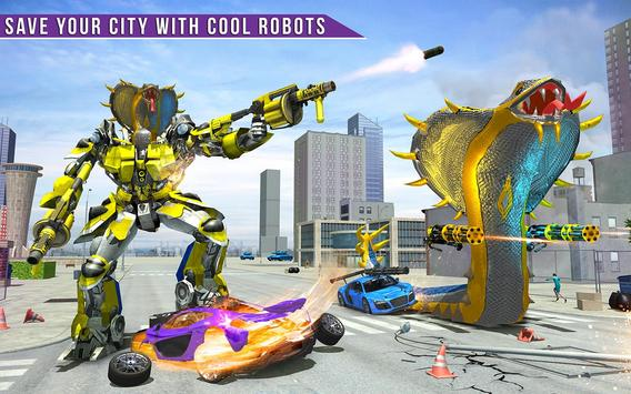 Snake Transform Robot Games screenshot 17