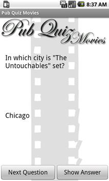 Pub Quiz Movies Free poster
