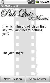 Pub Quiz Movies Free screenshot 2