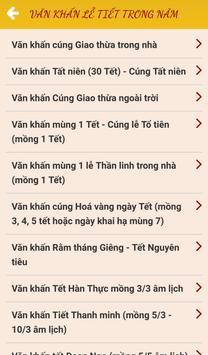 Văn Khấn - trọn bộ văn khấn cổ truyền screenshot 3
