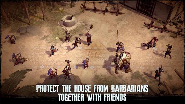 Exile Survival – Craft, build, fight with monsters captura de pantalla 6