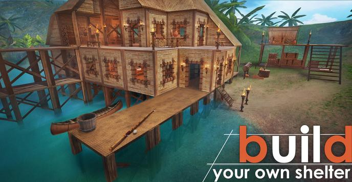 Survival Island: EVO PRO– Survivor building home poster