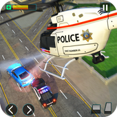 Police Helicopter Simulator : City Police Chase icon