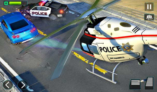 Police Helicopter Simulator : City Police Chase screenshot 14