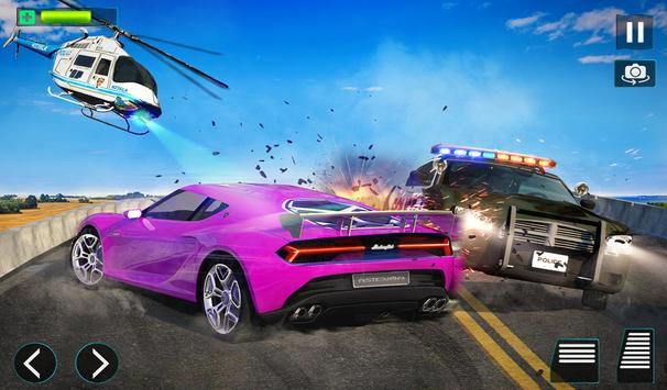 Police Helicopter Simulator : City Police Chase screenshot 10