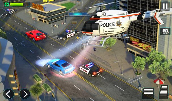 Police Helicopter Simulator : City Police Chase screenshot 11