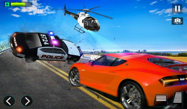 Police Helicopter Simulator : City Police Chase screenshot 13