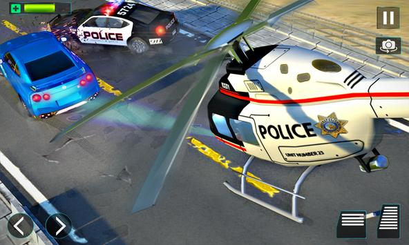 Police Helicopter Simulator : City Police Chase screenshot 4