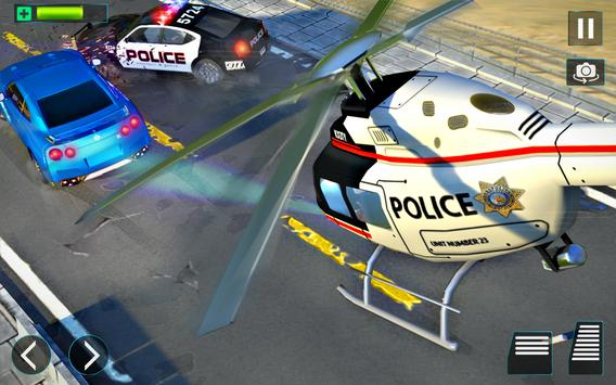 Police Helicopter Simulator : City Police Chase screenshot 9