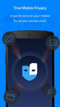 Phantom.me: Complete mobile privacy and anonymity poster