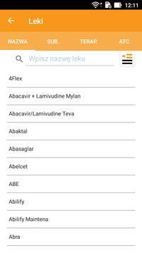 Leki Pharmindex mobile screenshot 1