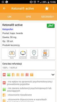 Leki Pharmindex mobile screenshot 2