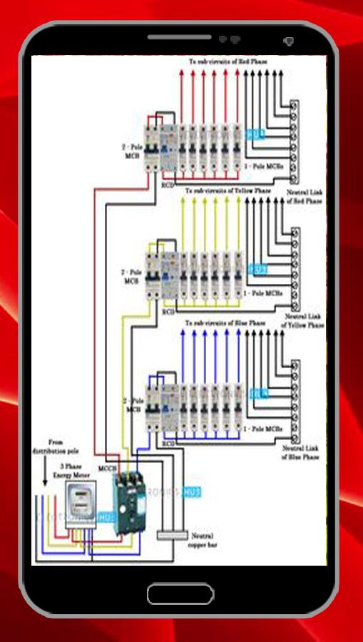 3 phase house wiring diagram three phase house wiring instalation for android apk download  three phase house wiring instalation