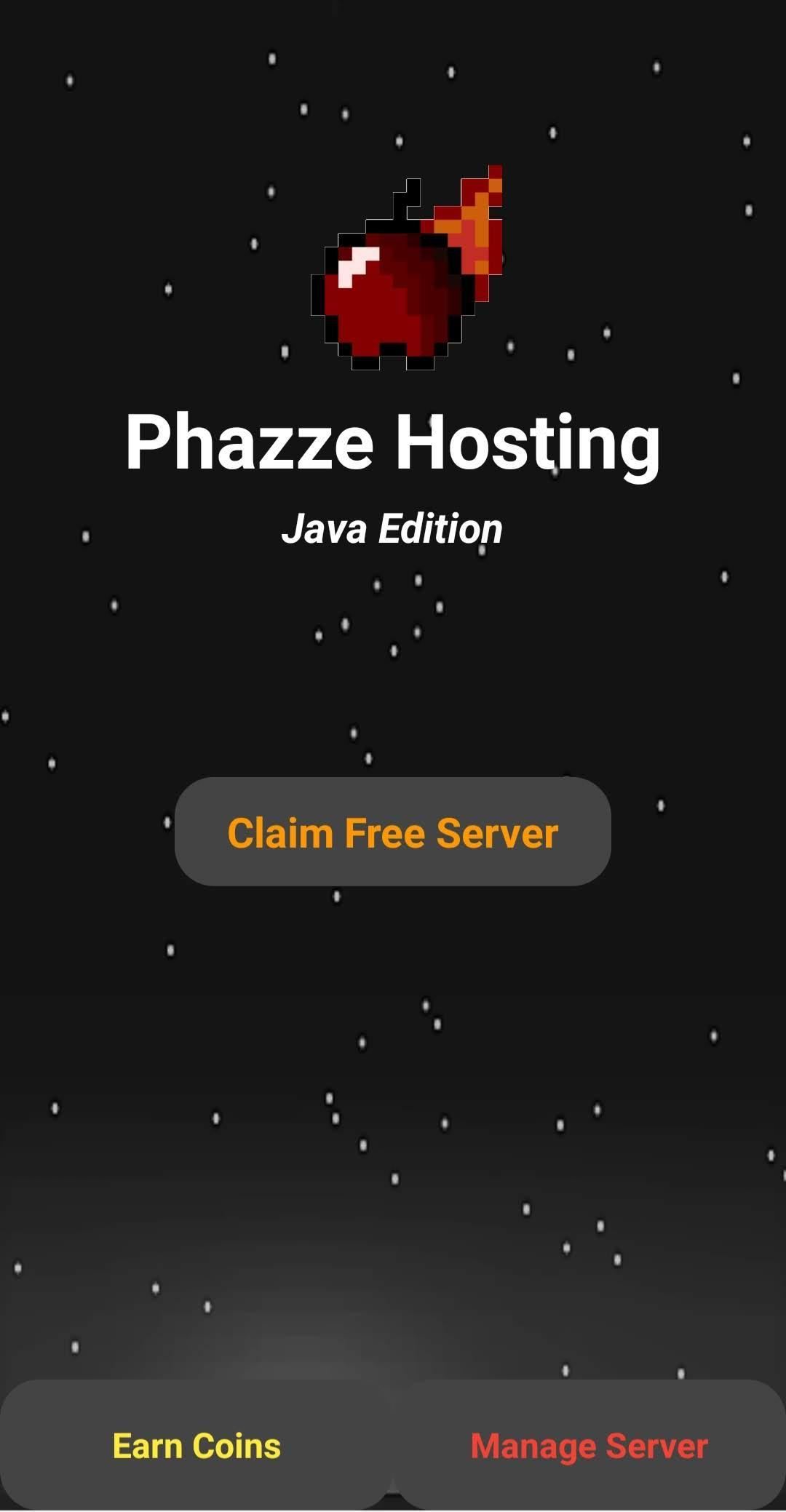 Phazze Hosting Servers for Minecraft Java Edition for