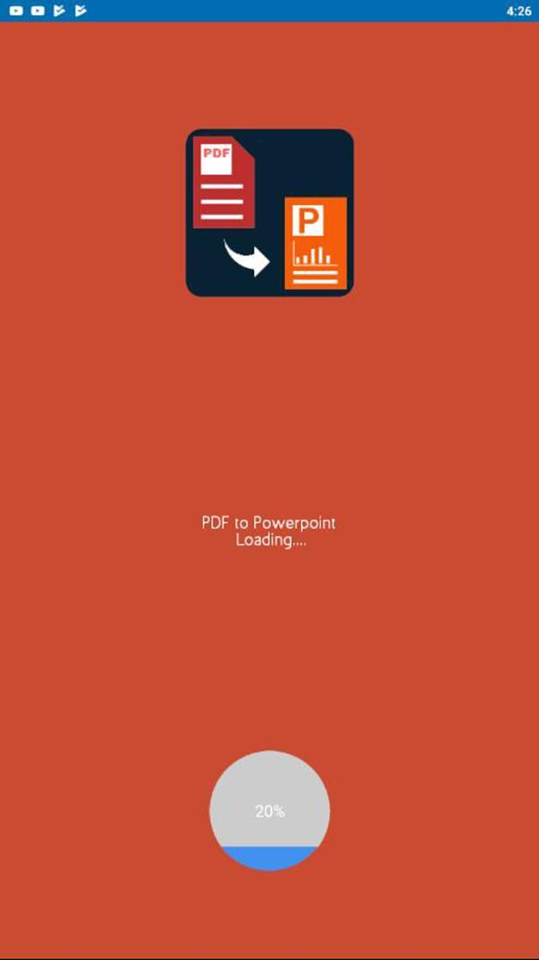 PDF to PowerPoint - Free PDF to PPT converter for Android