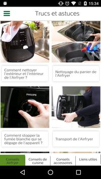 Philips Airfryer capture d'écran 2