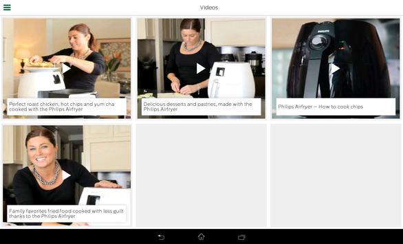 Philips Airfryer screenshot 8