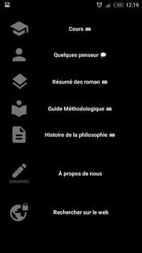 Cours de philo screenshot 1
