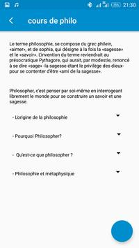 Cours de philo screenshot 2