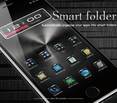 APSU Launcher 3D - themes, wallpapers, efficient for Android