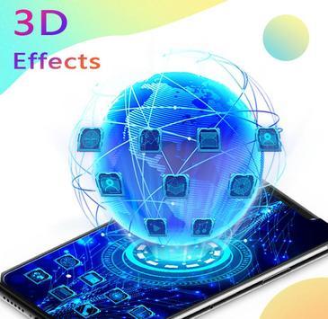 U Launcher 3D poster