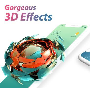 U Launcher 3D captura de pantalla 1