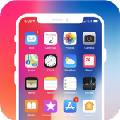Phone X Launcher, Lockscreen & Control Center icon