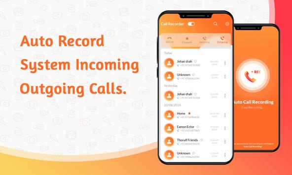 Automatic Call Recorder - auto call recorder poster