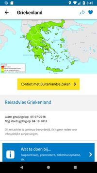 Reisapp Buitenlandse Zaken screenshot 2