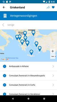 Reisapp Buitenlandse Zaken screenshot 3