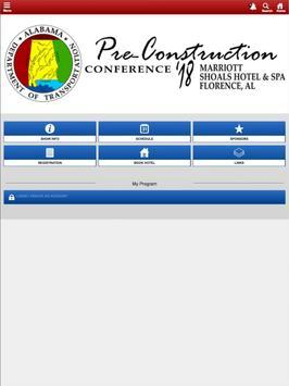 ALDOT Conferences screenshot 2