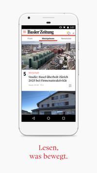 Basler Zeitung screenshot 1