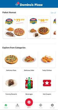 Domino's Pizza Indonesia - Home Delivery Expert screenshot 1