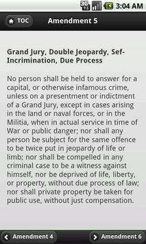US Amendments screenshot 2
