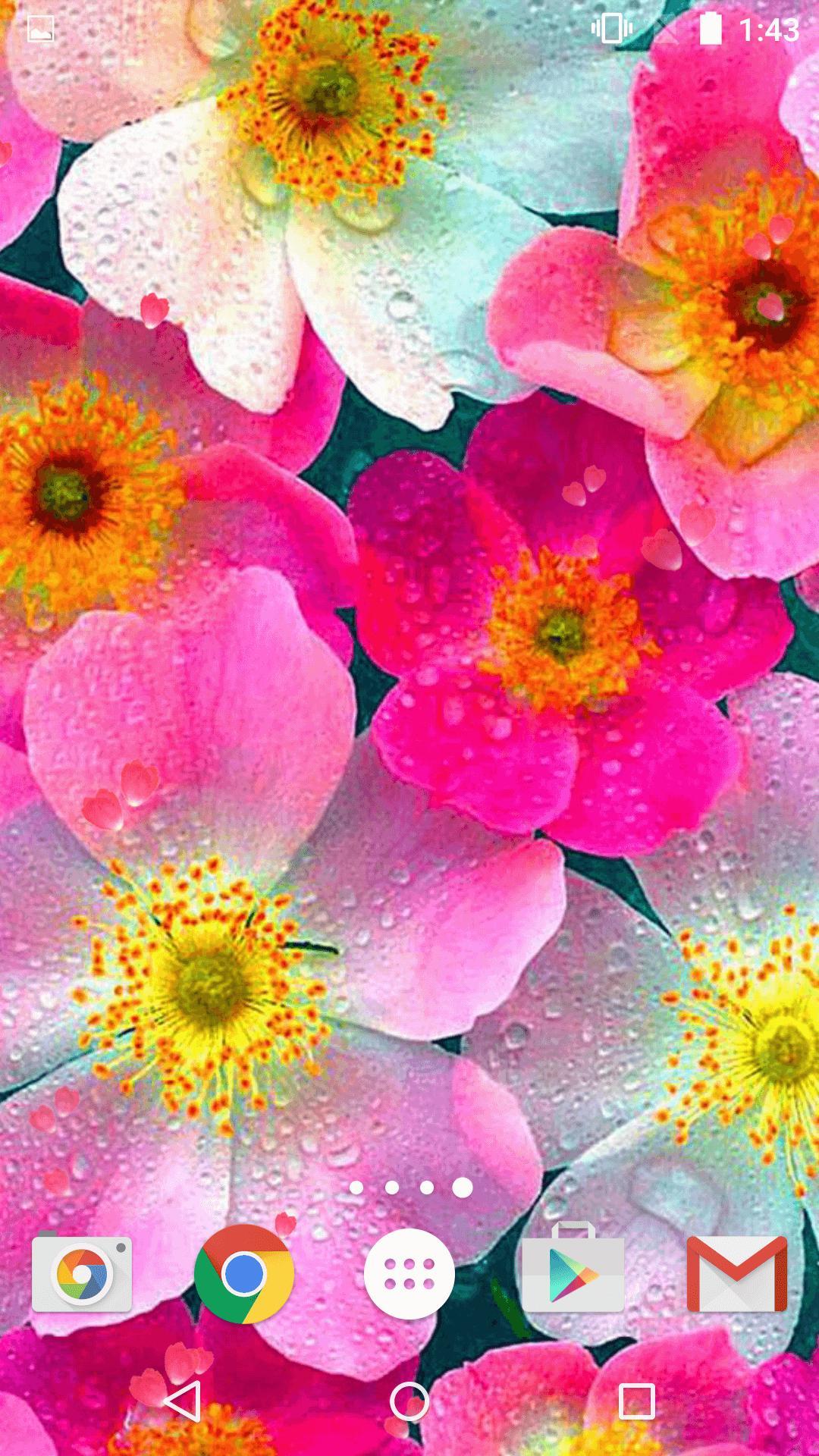 Unduh 80 Koleksi Wallpaper Bunga Animasi Paling Keren