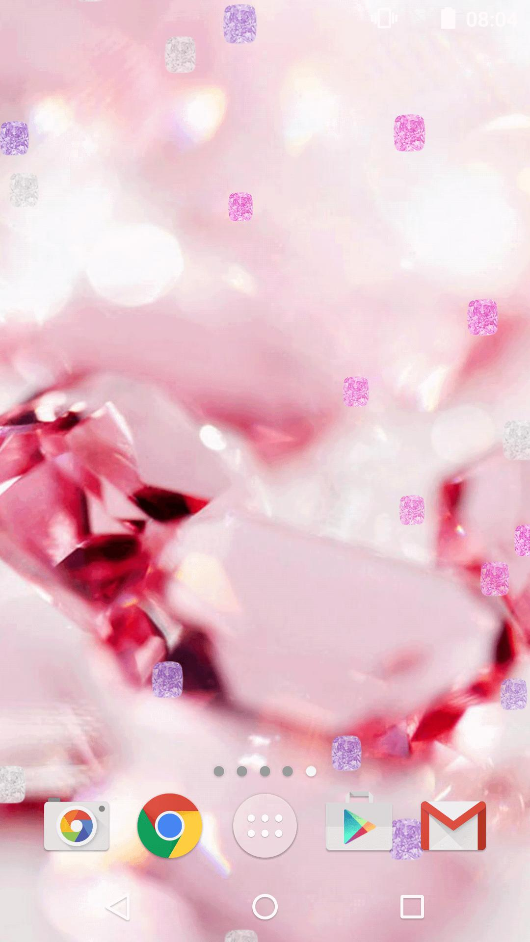 Diamante Rosa Sfondi Animati For Android Apk Download