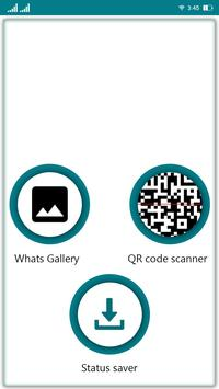 Poster Whatscan - Status saver for whatsweb