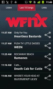 WFNX Radio screenshot 1
