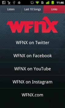 WFNX Radio screenshot 2