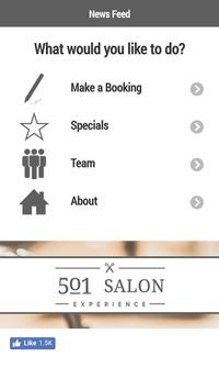 501 Salon Experience poster