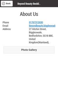 Beyond Beauty Salon screenshot 2