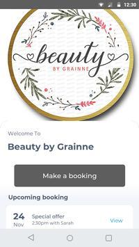 Beauty by Grainne poster