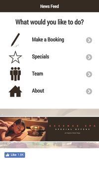 Essence Spa Sligo poster