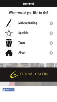 Eutopia Salon poster