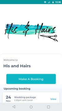 His and Hairs poster