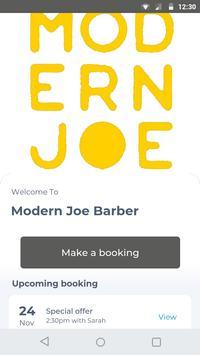 Modern Joe Barber poster