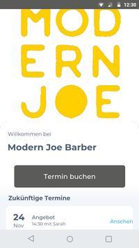 Modern Joe Barber Plakat