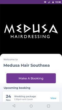 Medusa Hair Southsea poster