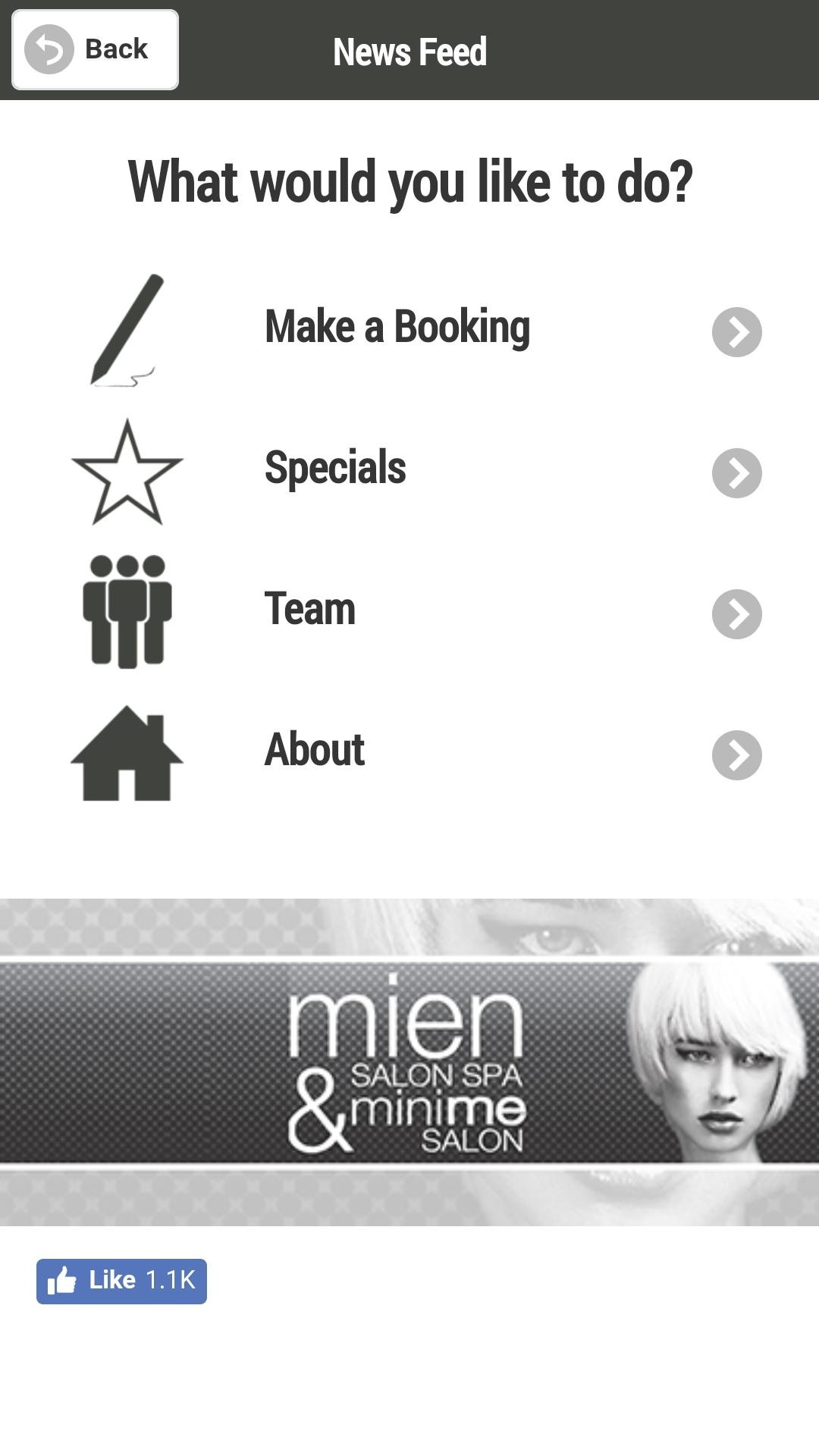 Mien Salon Spa For Android Apk Download